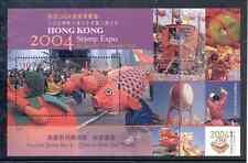 Hong Kong - Souvenir Sheet 2004 MNH** Stamp Expo