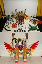 Grand Master G Gundam Raven Walter 100% Complete! MSIA Action Figure Bandai lot
