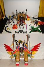 Grand Master G Gundam Raven Walter 100% Complete! MSIA Action Figure Bandai lot