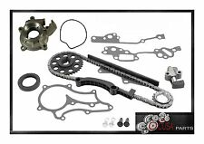 TIMING CHAIN KIT + OIL PUMP for 4RUNNER PICKUP 1985-1995 STEEL GUIDE L4  2.4L