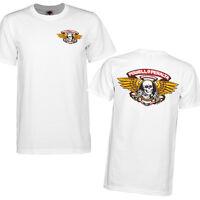 Bones Winged Ripper Powell Peralta T-Shirt White Skull OG Skateboard M L XL XXL