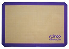 """Winco Sbs-24Pp, Purple Silicone Baking Mat, Full-size, 16-3/8"""" x 24-1/2"""", Allerg"""