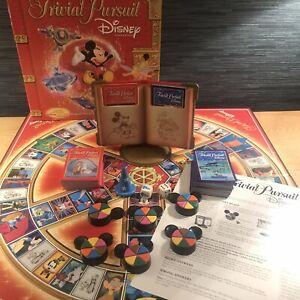 """Disney Trivial Pursuit Disney Edition 2005 By Parker """"Rare Version"""" VGC"""