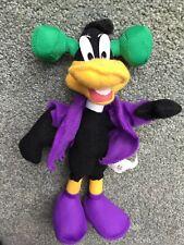 "Wb Looney Tunes Daffy Duck 10"" Plush Stuffed Animal Toy Rare"