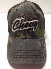 Chevy Rock Solid Camo Baseball Hat SnapBack Cap Paramount Outdoors Hunting Adj