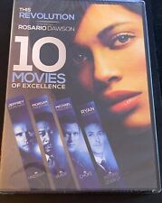 10 MOVIES OF EXCELLENCE W/Rosario Dawson (2 DVD Set, This Revolution) >NEW<