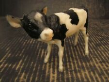 """Breyer Calf Black White Holstein 6.5"""" Plastic"""