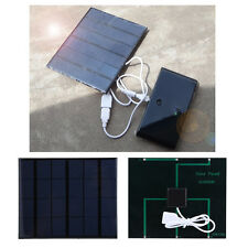 Portable USB Solar Panel Power Bank External Battery Charger For Mobile Phone