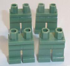 Lego Sand Green Legs x 4 for Miinifigure