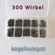 300 Wirbel in der Box | MEGA SET | Starter Pack | RiesenSortiment | Angelhotspot