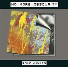 Rolf Munkes - No More Obscurity - CD - Neu - OVP