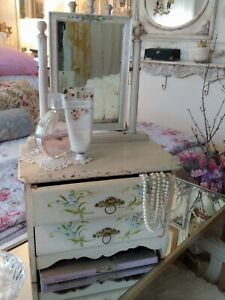 ANTIQUE SALESMAN SAMPLE WOOD CHEST-DRESSER EARLY 1900's DOLL FURNITURE