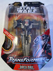 Hasbro Star Wars Transformers: Darth Maul Sith Infiltrator Action Figure For Sale
