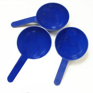50ml Blue Plastic Measure Scoop - 5 to 50 Scoops - Protein Supplement - Food