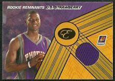 DJ STRAWBERRY 07-08 BOWMAN ELEVATION ROOKIE REMNANTS JERSEY 77/199 PHOENIX SUNS
