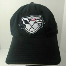 TaylorMade TMAX Strapback Cap Hat Black Embroidered with Racing Emblem Patch