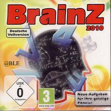 PC Spiel Brainz 2010 kniffliges Rätsel Gedächtnis Konzentration Win 7
