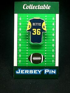 Los Angeles Rams Jerome Bettis jersey lapel pin-Classic vintage Collectable