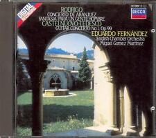 RODRIGO - Concierto Aranjuez / Fantasia  CASTELNUOVO TEDESCO - Eduardo FERNANDEZ