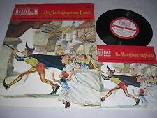 BASTEI WUNDERLAND- Bilderbuch + Schallplatte -  Nr. 10 - Der Rattenfänger von ..