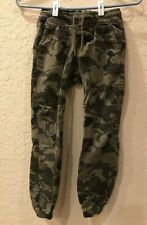 Tony Hawk Youth Boys Pants Size S Camouflage Print Drawstring