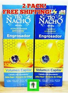 Tio Nacho Engrosador:Thicker Effect Hair 1 Shampoo+1 Conditioner(FREE SAME DAY🚚