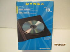 DYNEX 10 Pack DVD Case These are New, in a Sealed 10 Pack of DVD Cases Only!