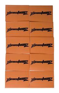 """50 Pack Oversized 1/0 AWG 0 Gauge 3/4"""" Diameter Heat Shrinks ORANGE"""
