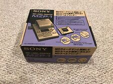 Never Used Vtg Rare Sony Mzp-1 Md MiniDisc Mini Disc Label Printer! Open Box