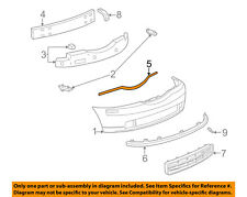 Lincoln FORD OEM 03-04 LS Front Bumper-Cover Molding Right 3W4Z17C829AA