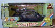 1:32 Ultimate Soldier 21st Century WWII U.S Heavy Artillery M115 8 Inch Howitzer