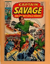 Captain Savage And His Battlefield Raiders #12  VF to VF+