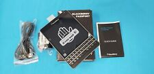 Preowned BlackBerry Passport - 32Gb -Black (At&T) Sqw100-3 Gsm Unlocked Sun Spot