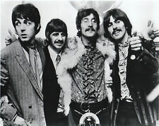 "BEATLES     8""x10""  B & W  Photo Copy"