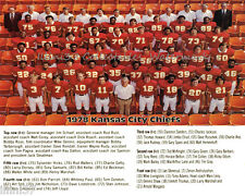 1978 KANSAS CITY CHIEFS NFL FOOTBALL TEAM 8X10 PHOTO PICTURE