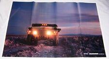 2003 03 H1 Hummer original brochure posters MINT