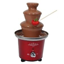 1950s Style Retro Diner Chocolate Fountain - Gourmet Gadgetry Red Home Wedding