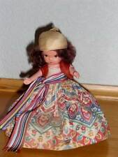 Nancy Ann Storybook Doll ~ #60 Gypsy w/MS Yellow Scarf & Cotton Slip