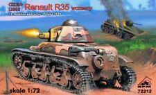 RENAULT R-35  (FRENCH, POLISH, YUGOSLAVIAN & ROMANIAN MARKINGS) 1/72 RPM