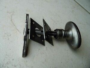 Ancienne poignée de porte à clenche,en fer forgé,serrure ferrure penture