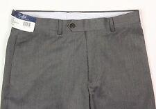 Men's RALPH LAUREN Gray Grey Herringbone Flat Front Dress Pants 38x30 NWT NEW