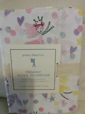 Pottery Barn Kids Alexia Organic Fairy Standard Pillowcase NWT!