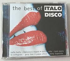 The Best Of Italo Disco 14trk CD Disky 1996