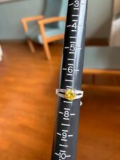 Fragrant Jewels Yellow Ring Size 7