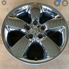 "Dodge Ram rim wheel chrome clad 1500 pickup truck 20"" excellent condition 2495C"