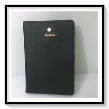 Mimco SUPERMICRA PASSPORT HOLDER  Wallet Brand New with Tags BLACK