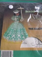 VINTAGE BEADED BELLE DOLL ORNAMENT KIT THE BEADERY OPENED AND STARTED
