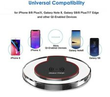Qi Wireless Quick Charging Pad For Apple And Samsung