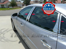 2005-2009 Buick Lacrosse 8Pc Chrome Pillar Post Stainless Steel Trim