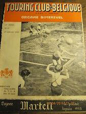 Touring Club de Belgique 1 Juillet 1948 Ostende et Blankenberghe à leurs débuts